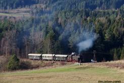Mikołajowy pociąg retro do Kasiny Wielkiej